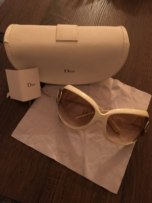 Dior Butterfly Glasses natural white