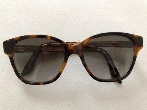 Dior Occhiale stile retro marrone-marrone chiaro
