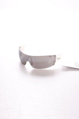 Dior Sonnenbrille hellgrau-grau sportlicher Stil