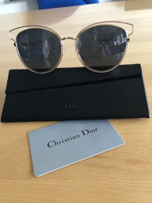 Christian Dior Sunglasses gold-colored-white