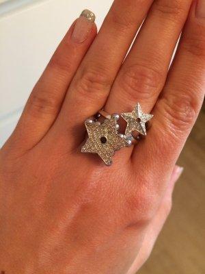 Dior Statement Ring Stern Größe 6 ( 1,8 cm Durchmesser )