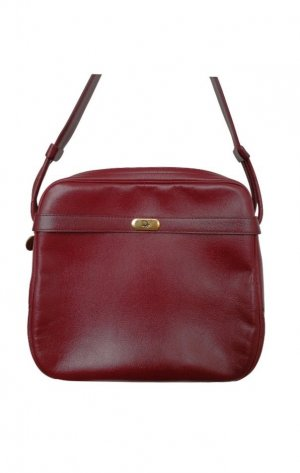 Christian Dior Bolso barrel burdeos