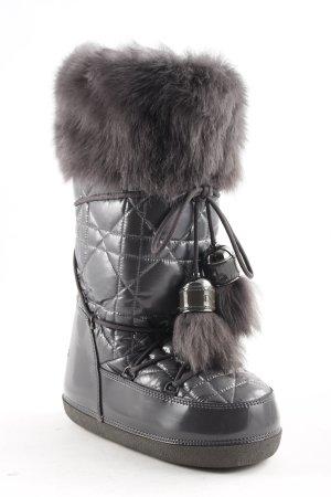 Dior Winterstiefel grau extravaganter Stil