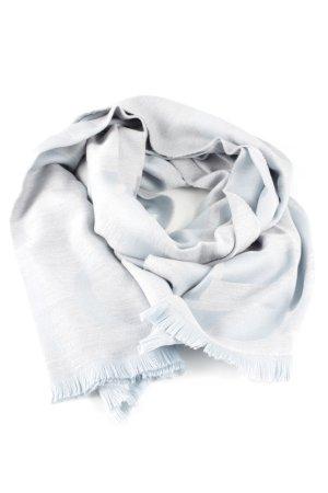 Dior Écharpe en laine gris clair style d'affaires