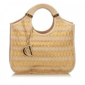 Dior Woven Leather Tote