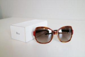 Dior Gafas mariposa rojo oscuro-color bronce
