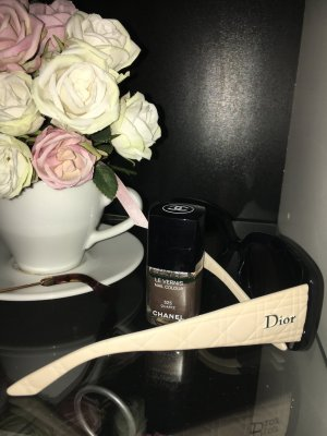 Dior Lunettes noir-crème