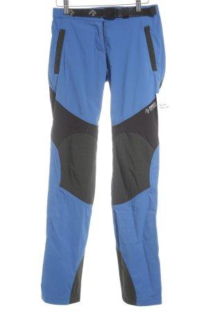 Direct Alpine Schneehose blau-schwarz sportlicher Stil