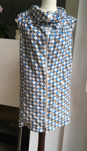 Bikkembergs Mini Dress multicolored silk