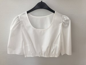 Folkloristische blouse wit Polyester
