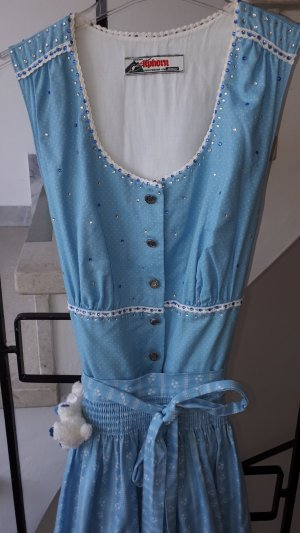101 Idees Dirndl pink-light blue