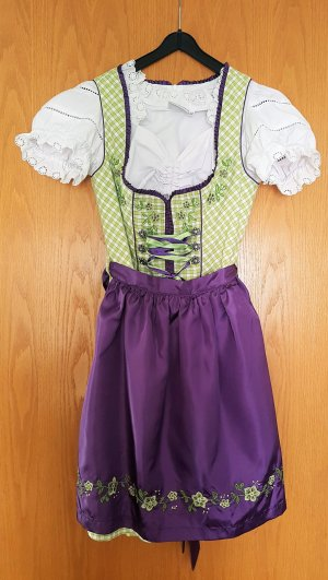 Fuchs Trachtenmoden Dirndl multicolored cotton