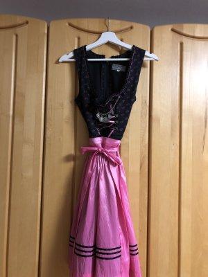 Gamsbock Dirndl noir-rose