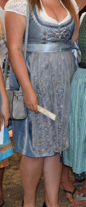 Stockerpoint Dirndl argenté-bleu pâle