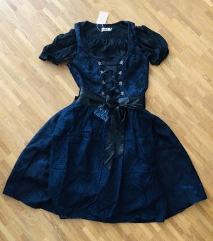 Corsage Dress black-dark blue