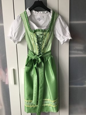 Amy Vermont Dirndl meadow green-white