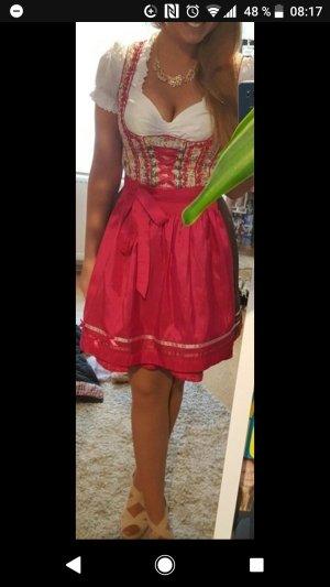 MarJo Traditionele jurk roze-magenta