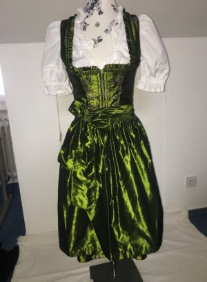 Angermaier Dirndl verde bosco