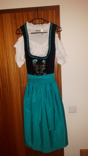 Vestido Dirndl multicolor