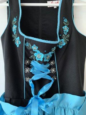 Dirndl blau/schwarz - Fuchs