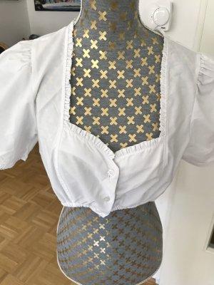 Trachten Deiser Blusa folclórica blanco