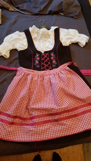 Alphorn Robe courte noir-rose