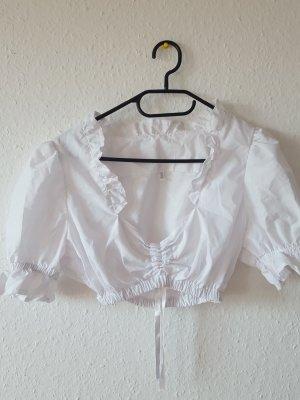 Blusa tradizionale bianco sporco