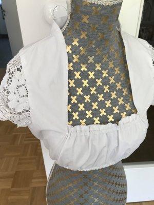 Hess Frackmann Blusa folclórica blanco