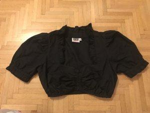 Dirndl Bluse schwarz