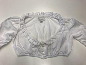 Almenrausch Ruche blouse wit Katoen
