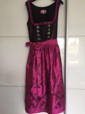 Gamsbock Dirndl noir-violet