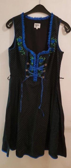 Dirndl black-blue