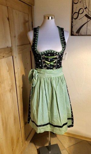Dirndl Dirndel Tracht von Edel Herz Bayern Kleid 38 M neu