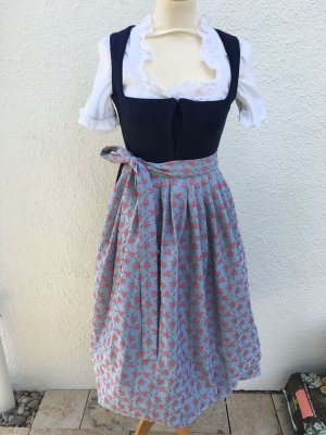 Dirndl dark blue-azure
