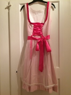 Dirndl pink-pink