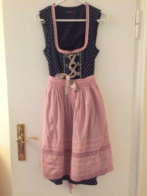Esprit Traditionele jurk roségoud-donkerblauw
