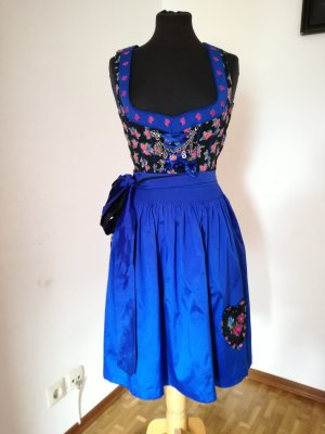 Country Line Dirndl black-blue