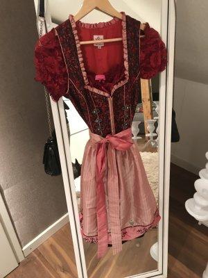 Dirndl Größe 38 rot rosa