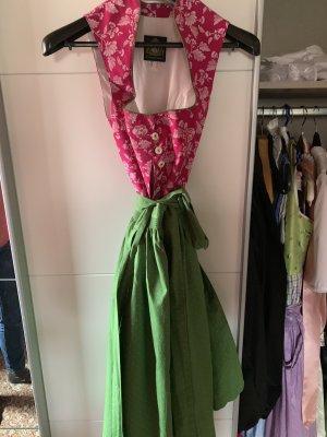Hammerschmid Vestido Dirndl rosa-verde claro