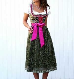 Krüger feelings Vestido Dirndl multicolor