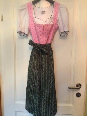 Dirndl - h.moser gr38 rosa,dunkelgrün