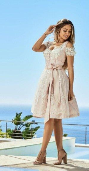 Dirndl white-rose-gold-coloured