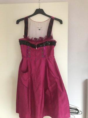 Dirndl noir-rose