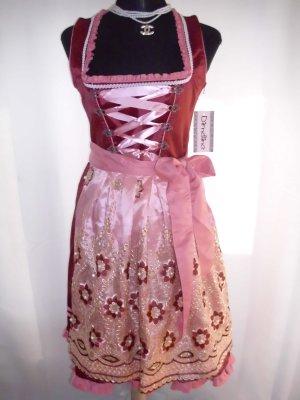 Dirndl red-pink