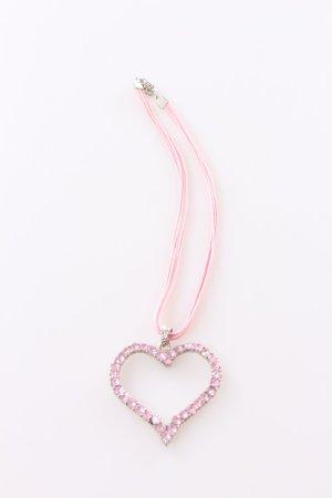 Dirndl chain Rhinestone Heart