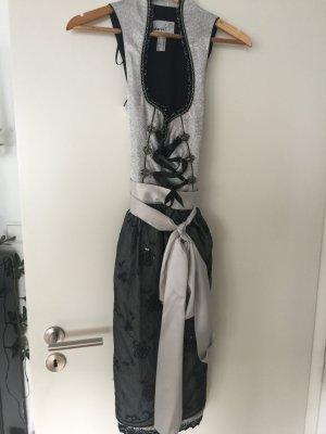 MarJo Dirndl noir-argenté polyester