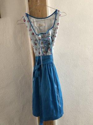 MarJo Dirndl rose clair-bleu coton