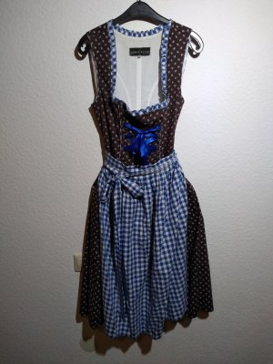 Berwin & Wolff Dirndl brown-blue