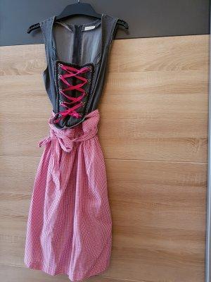 Dirndl Pink Gr. 38 mit Schürze