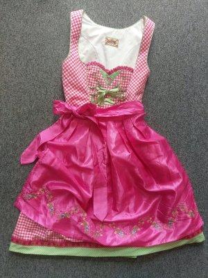 Dirndl pink/rosa Gr.36